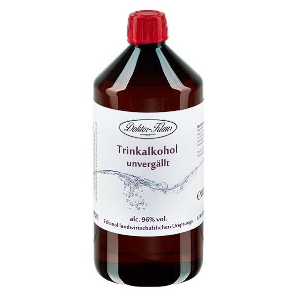 1000ml Primasprit (Trinkalkohol/Weingeist) 96%